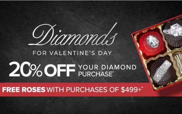 Fall in Love with Diamonds this Valentine's Day!