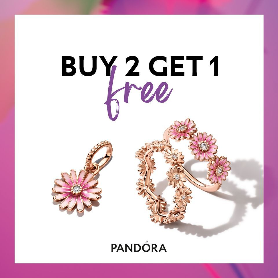 Buy 2 Get One Free Pandora Sale!